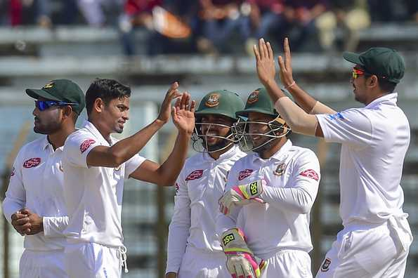 All three Tests were supposed to be part of the ICC Test Championship.