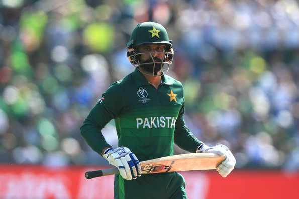 Hafeez was part of the touring party to play the T20Is in England.