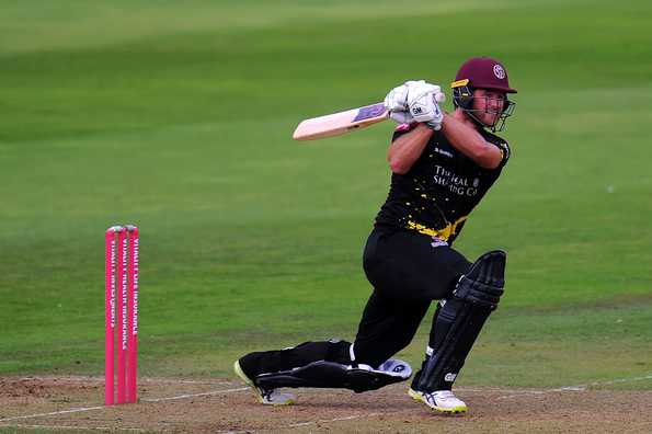 Anderson had signed with Somerset for the T20 Blast this year