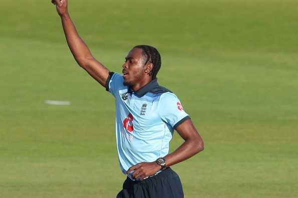 Jofra Archer finished with figures of 10-1-34-3.